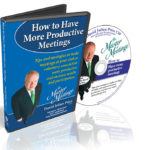 How to Have Productibve Meetings for boards and committees