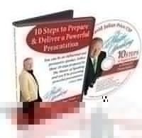 10 Steps to Prepare and Deliver a Powerful Presentation – Audio CD