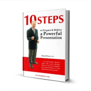 10 Steps to Prepare and Deliver a Powerful Presentation – softcover book