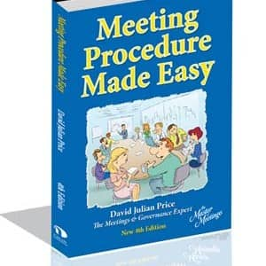 Meeting Procedure Made Easy – book