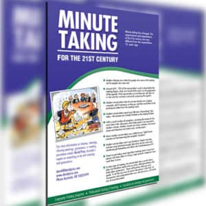 Minute Taking for the 21st Century – PDF – downloadble A4 PDF