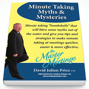 Minute Taking Myths & Mysteries – Audio CD