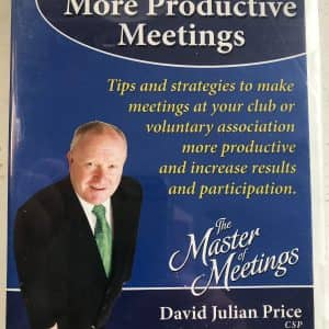How to Have More Productive Meetings