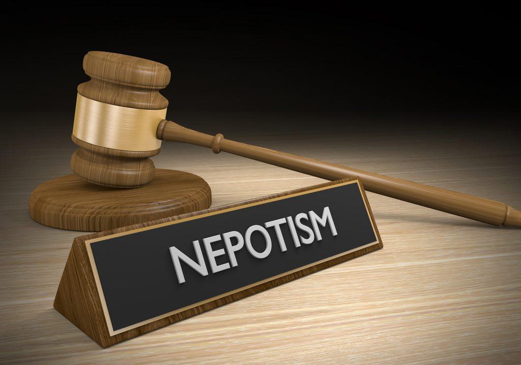 nepotism in meetings
