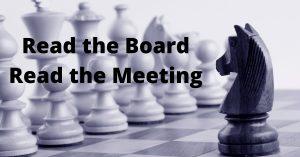 chess & chairing meetings similarities