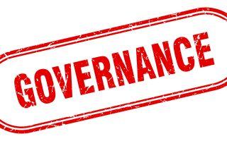governance stamp. governance square grunge sign. governance